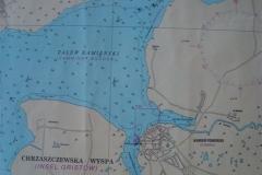 10. port kamien pomorski - mapa
