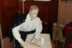 oficer przy pracy