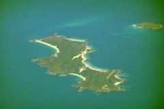 3. Swan Island widok ze wschodu